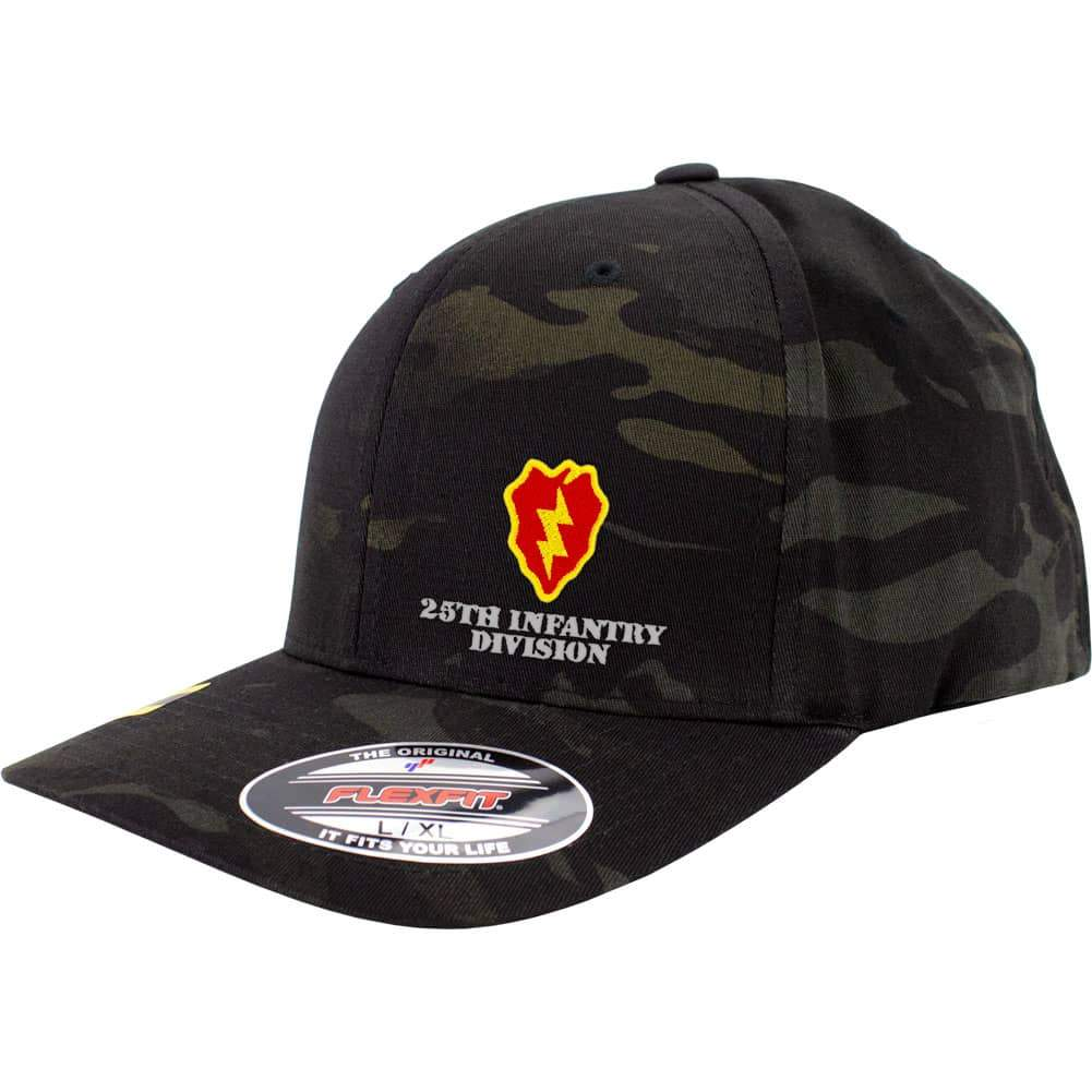 25th Infantry Division FlexFit Caps - Multicam