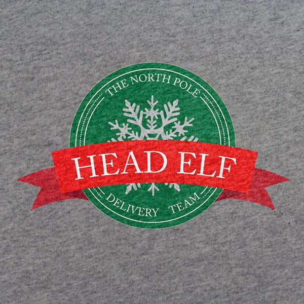 The North Pole Delivery Team Head Elf Shirt