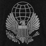 Vintage Style War on Terror: Service Medal (White Ink) T-Shirt
