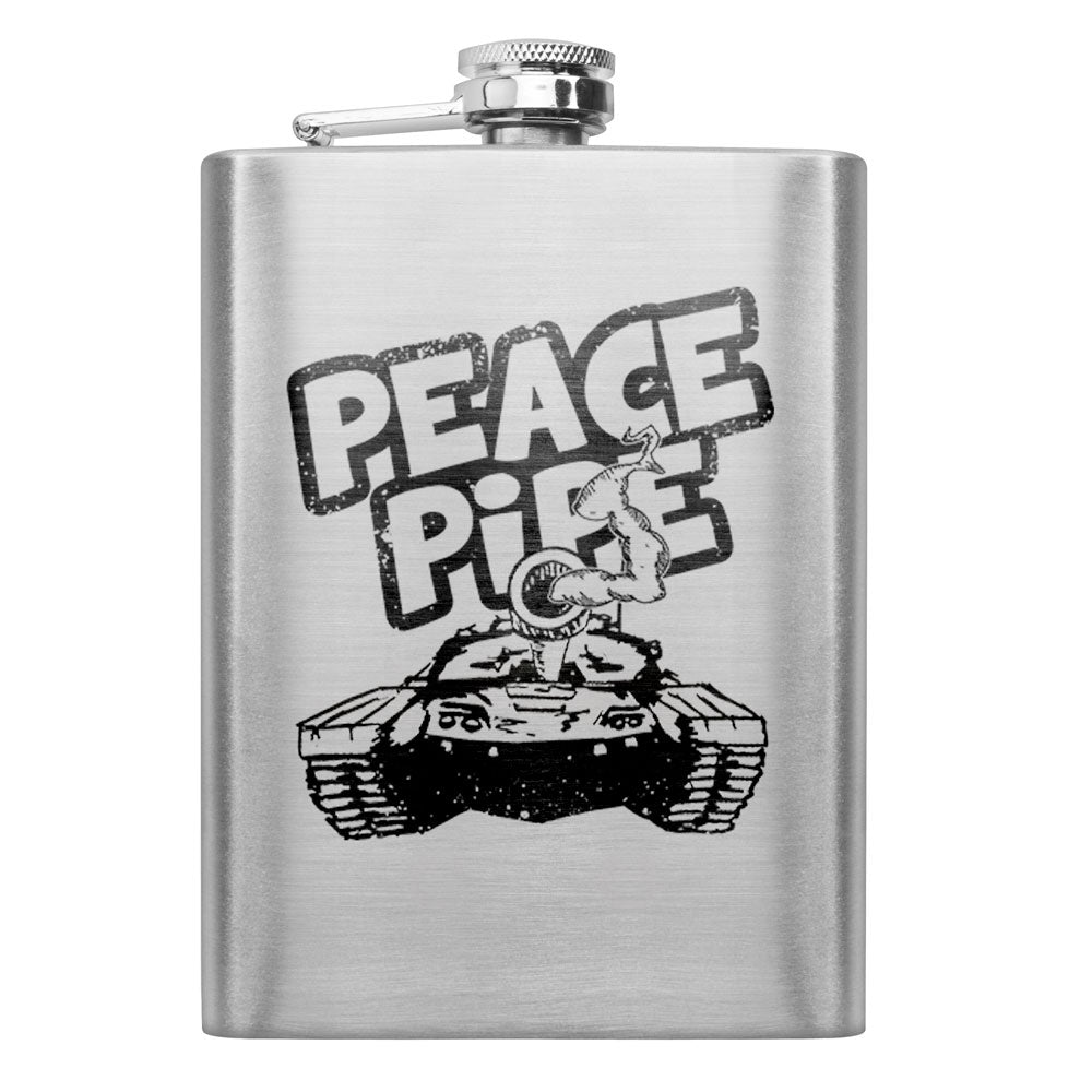 Peace Pipe 8 oz. Flask