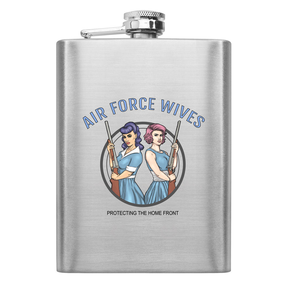 Military Wives Protecting the Homefront 8 oz. Flasks