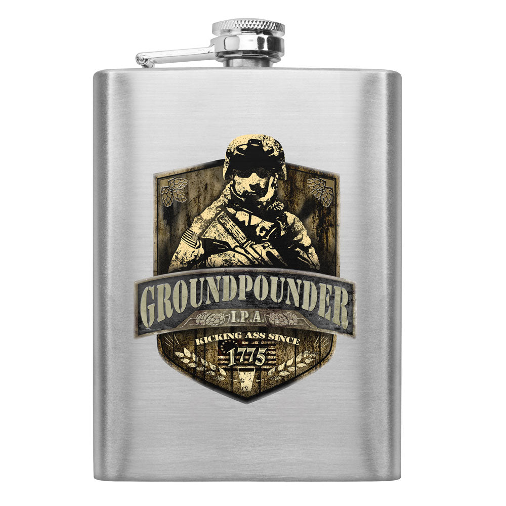 Army Groundpounder IPA 8 oz. Flask