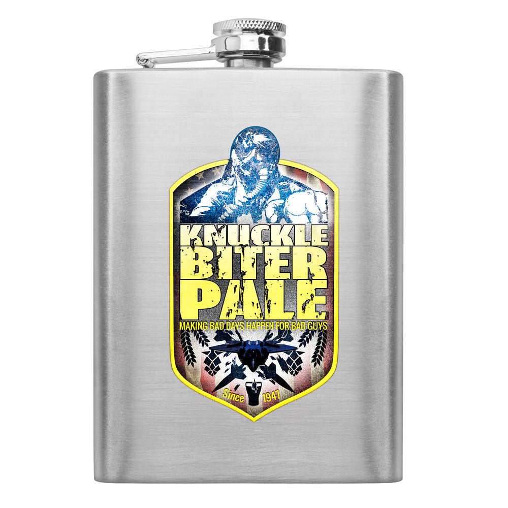 Air Force Knucklebiter Pale 8 oz. Flask