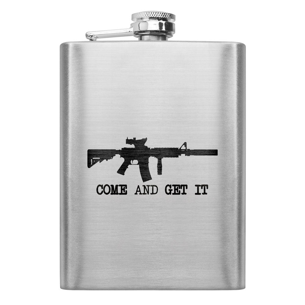 Come and Get It 8 oz. Flask