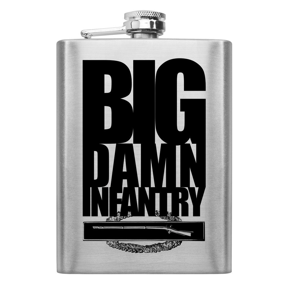 Big Damn Infantry 8 oz. Flask