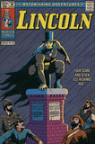 Lincoln: The Dark Night Vintage Comic Canvas Print