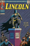 Lincoln: The Dark Night Vintage Comic Poster Print