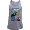 Lincoln in the Dark Night Vintage Comic Cover Tank Top
