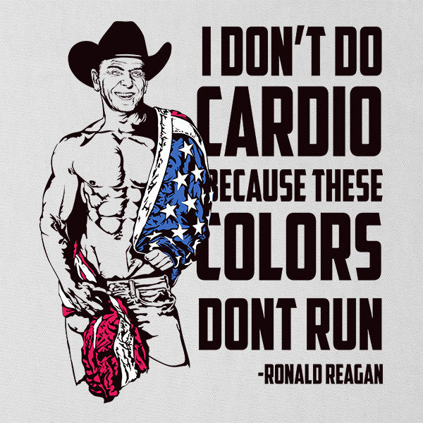 Original These Colors Don't Run Ronald Reagan Quote Vintage Tank Top