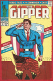 The Gipper: The Fall of the Wall Vintage Comic Poster Print