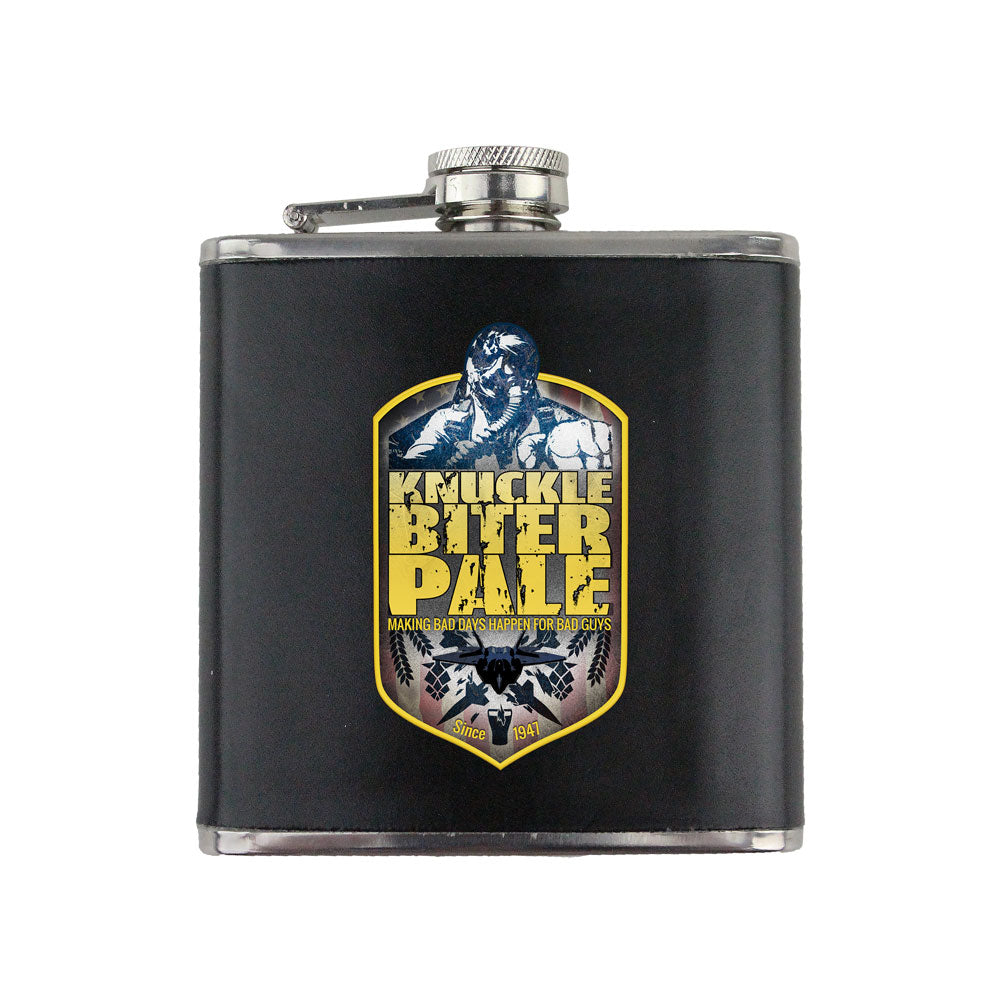 Air Force Knucklebiter Pale 6 oz. Flask with Wrap