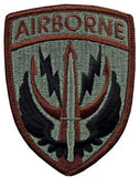Special Operations Command Central ACU Patch