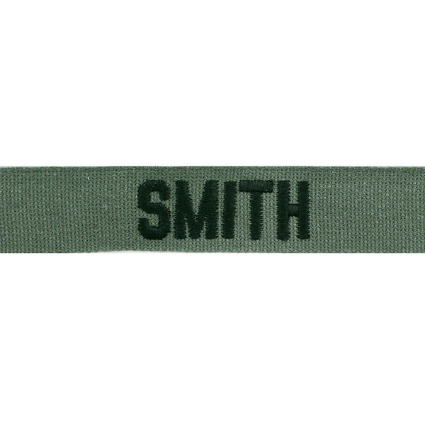 Embroidered Name Tapes and Helmet Bands | ACU Army