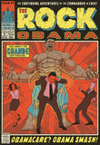 The Rock Obama Vintage Comic Poster Print