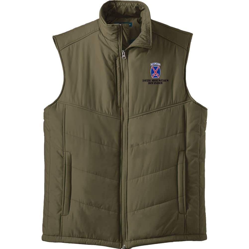 10th Mountain Division Puffy Vest