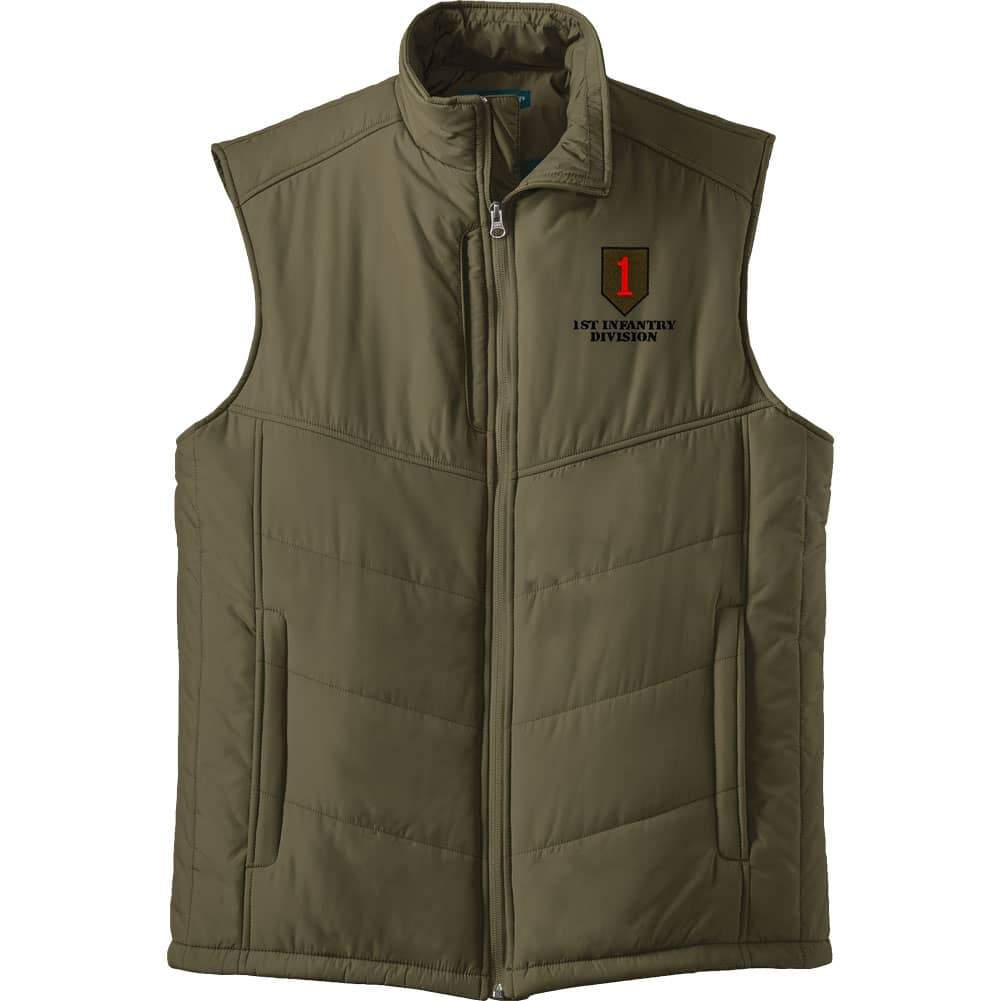 1st Infantry Division Puffy Vest