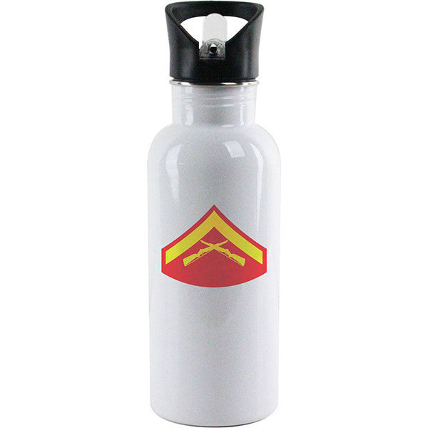 Marine Corps Rank Water Bottles