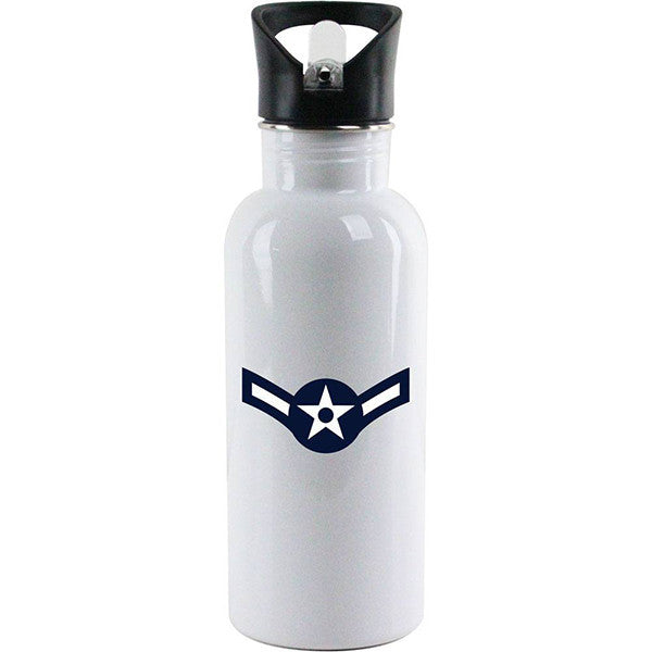 Air Force Rank Water Bottles