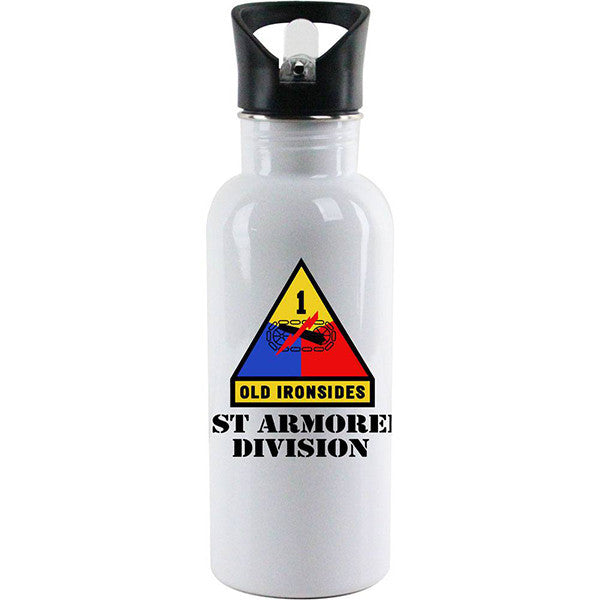 Full Color Army Unit Water Bottles