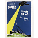 United States War Films Screenprinted Poster
