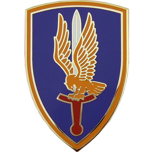 1st Aviation Brigade Combat Service Identification Badge