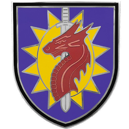 224th Sustainment Brigade Combat Service Identification Badge
