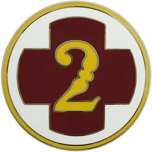 2nd Medical Brigade Combat Service Identification Badge