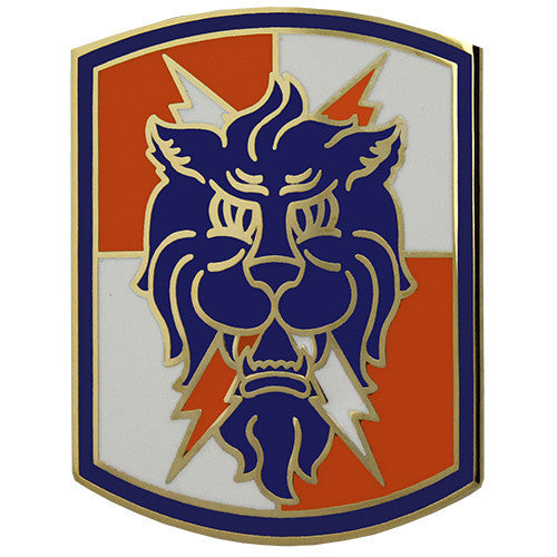 35th Signal Brigade Combat Service Identification Badge