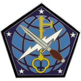 704th Military Intelligence Brigade Combat Service Identification Badge