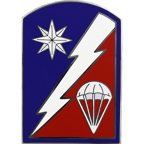 82nd Sustainment Brigade Combat Service Identification Badge