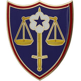 Trial Defense Service Combat Service Identification Badge