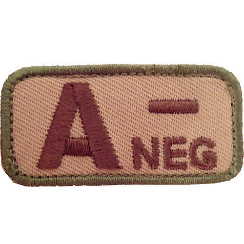 A Negative Blood Type MultiCam (OCP) Patch
