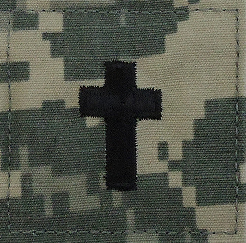 Army Christian Chaplain ACU Patch