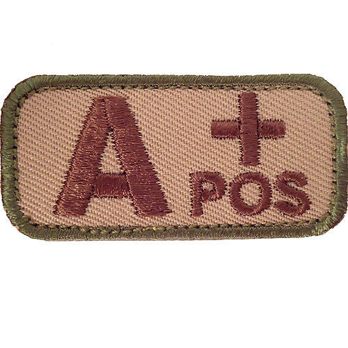 A Positive Blood Type MultiCam (OCP) Patch