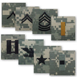 ACU Sew-On Rank - Officer and Enlisted