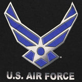 U.S. Air Force Wing Black-and-Blue Graphic T-Shirt