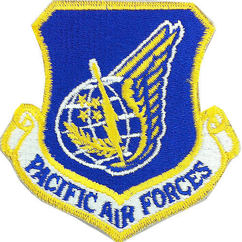 Pacific Air Forces Full Color Patch