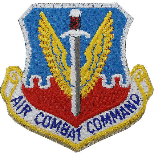 Air Combat Command Full Color Patch w/ Hook-and-Loop Fastener