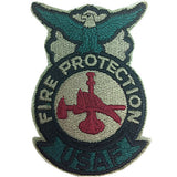 Air Force Fire Protection ABU Patch