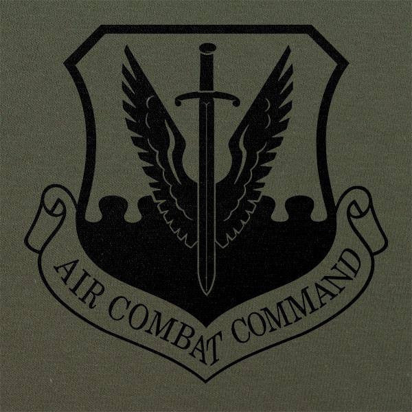 Air Combat Command Subdued Patch T-Shirt