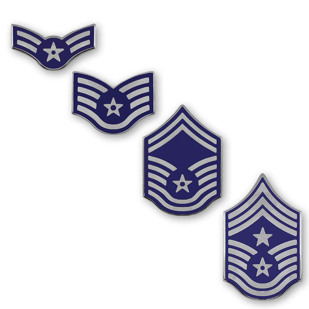 Air Force - Blue Enameled Rank