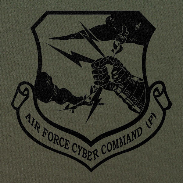 Air Force Cyber Command Subdued Patch T-Shirt