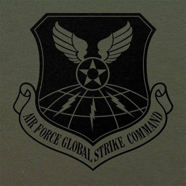 Air Force Global Strike Command Subdued Patch T-Shirt