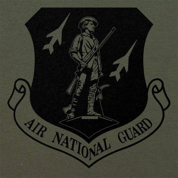 Air National Guard Subdued Patch T-Shirt