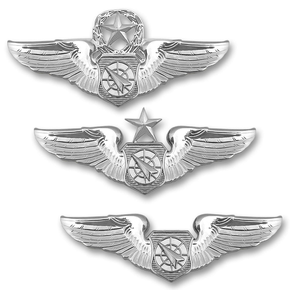 Air Force Miniature Air Battle Manager Badges