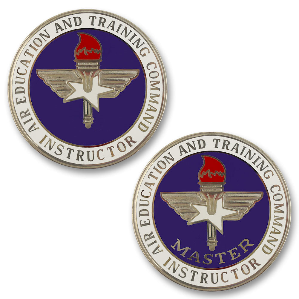 Air Force Air Education and Training Command Instructor Badges