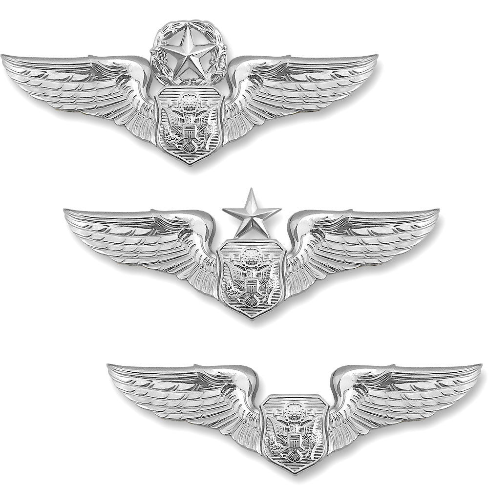 Air Force Miniature Aircrew Officer Badges