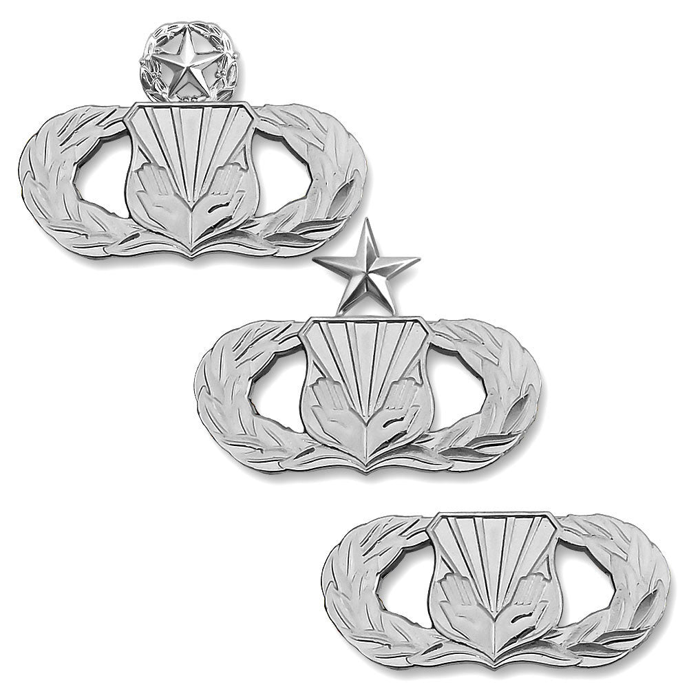 Air Force Chaplain Service Support Badges