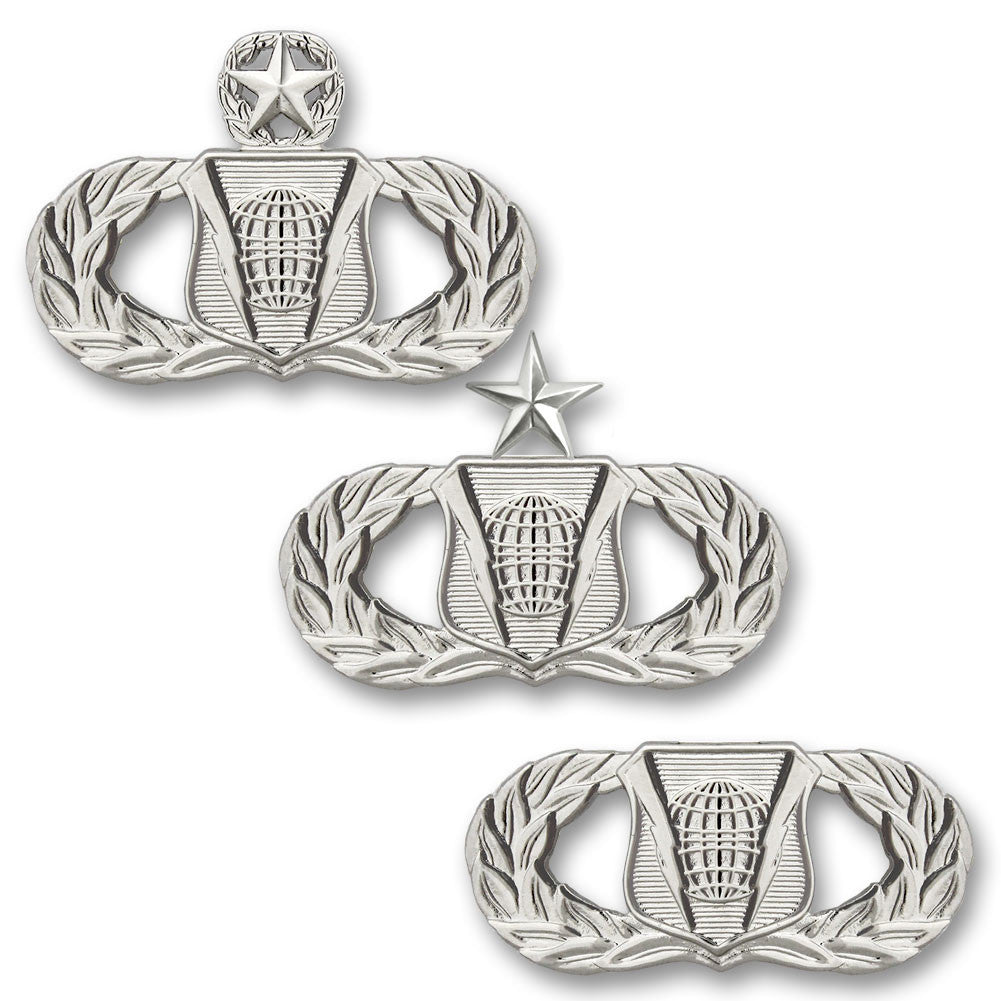 Air Force Command and Control Badges