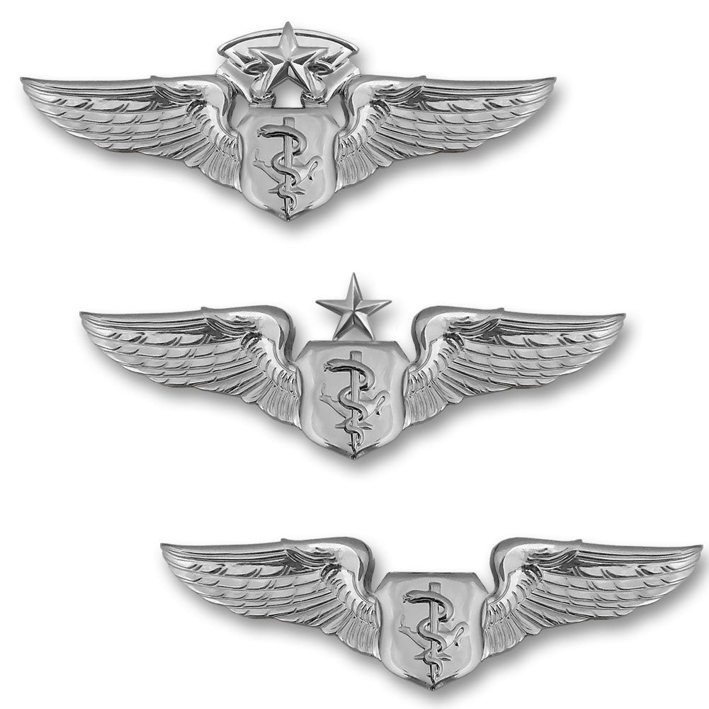 Air Force Miniature Flight Nurse Badges